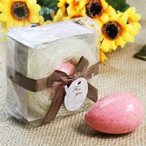Egg And Favors by Two Color For Choose Scented Birde Egg Soap Wedding Favor