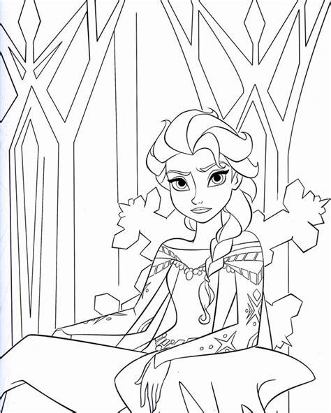 elsa halloween coloring pages coloriage la reine des neige disney