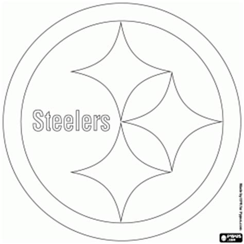 pics photos pittsburgh steelers coloring pages online pittsburgh steelers logo american football team in the
