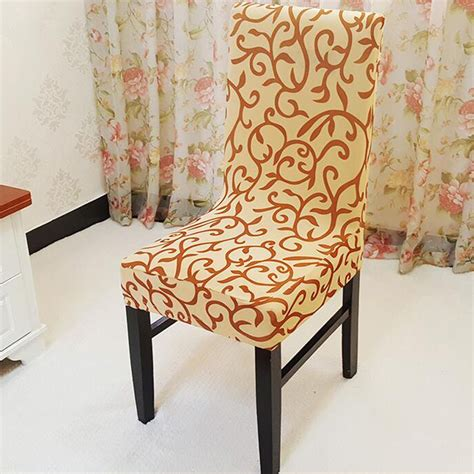 popular pattern dining room chair covers buy cheap pattern