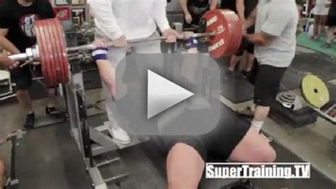 eric spoto bench eric spoto breaks bench pressing world record the