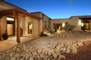 Southwestern Style House Plans this is special the catalina foothills