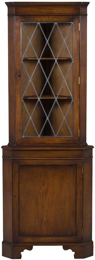 corner oak cabinet with doors best 25 leaded glass cabinets ideas on glass