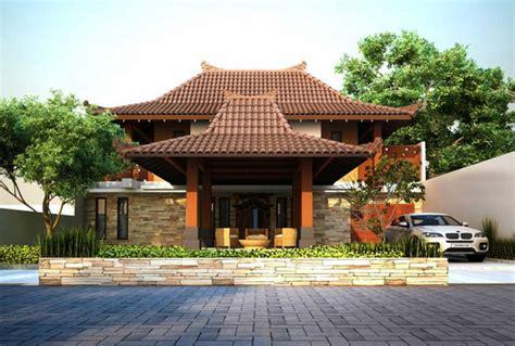 Rumah Minimalis Etnik Jawa