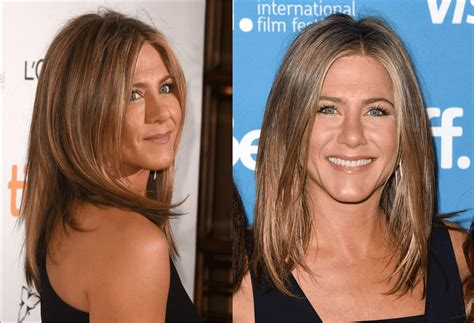 hair styles to suit high check bones oval face hairstyles jennifer aniston and more celebs