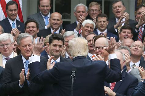 House Of Republicans What A Trumpcare Nightmare Just About Everyone With