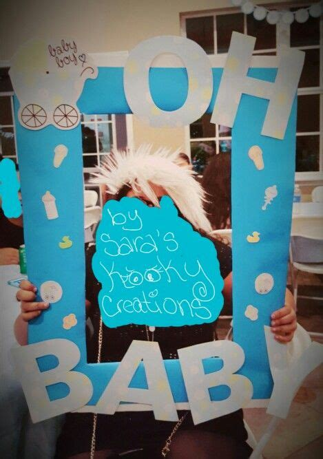what are boat props made of baby shower photo booth frame and prop made by sara s