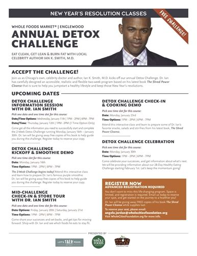 Dr Ian Detox by Dr Ian Smith Launches New Year With Englewood Detox