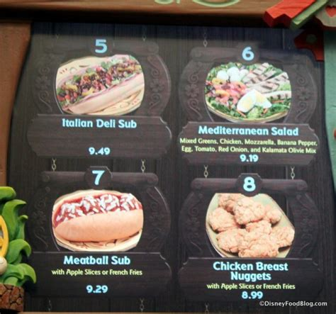 haus menu review lunch at pinocchio haus in disney world s magic kingdom the disney