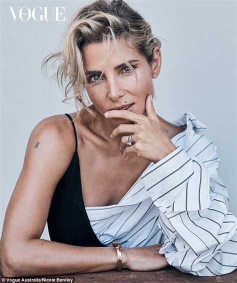 elsa pataky goes barefoot in stunning vogue fashion shoot