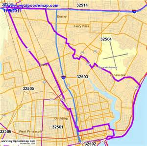 zip code map of 32503 demographic profile residential