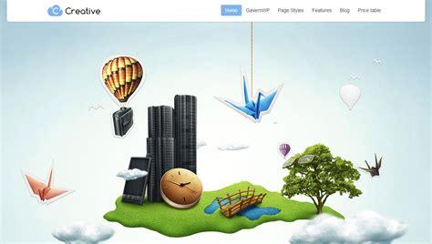 theme co creative responsive parallax business wp theme