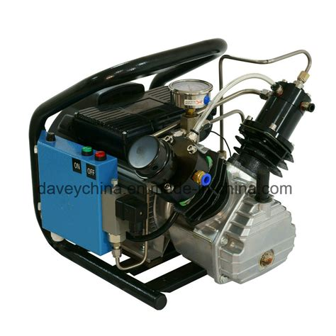 china factory electric driven 300bar high pressure air compressor for airgun pcp paintball