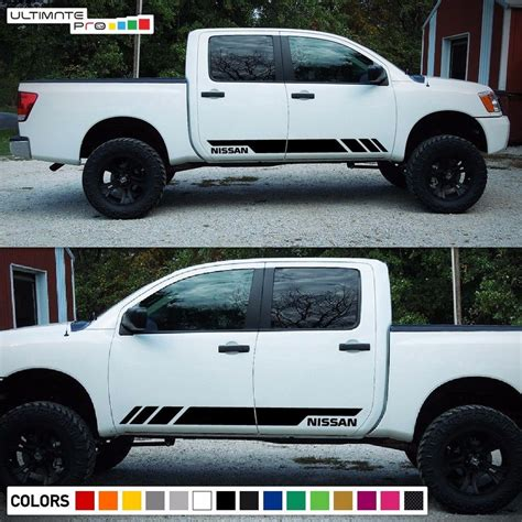 Nissan Tuning Aufkleber by Decal Sticker Stripe Kit For Nissan Titan Pro 4x