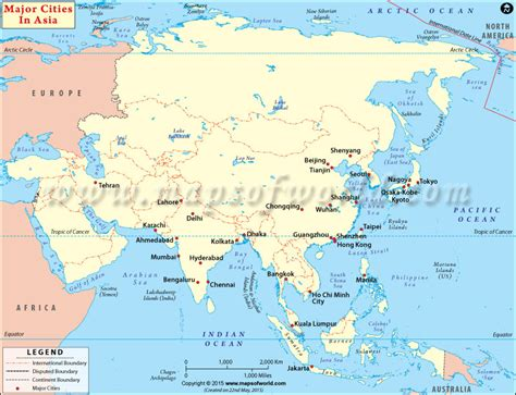 map of cities in asia asian cities cities in asia major cities in asia
