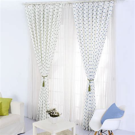 Polka Dot Sheer Curtains White Sheer Curtains With Black Polka Dots Curtain Menzilperde Net