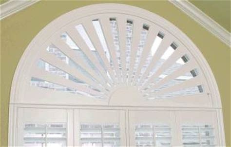 half circle window coverings stock and custom window treatments for arches eyebrows