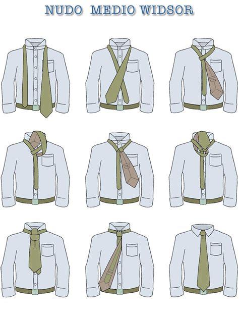 anuncio como hacer un nudo de corbata principales nudos de corbata paso a paso grupojosvil