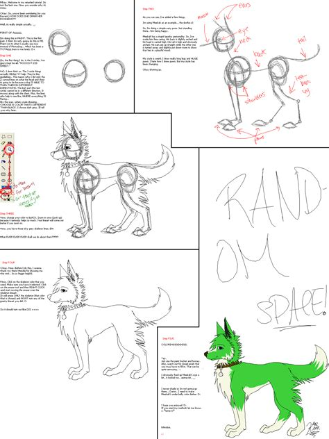 tutorial c for drawing dogs tutorial c by xvivalakimx on deviantart