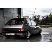 Tuning Peugeot 205 XTD Rear