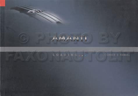 manual repair free 2006 kia amanti user handbook 2006 kia amanti owners manual original
