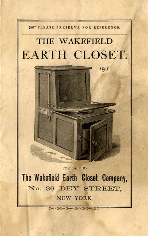 Earth Closet Toilet by The Doy Leale Mccall Papers