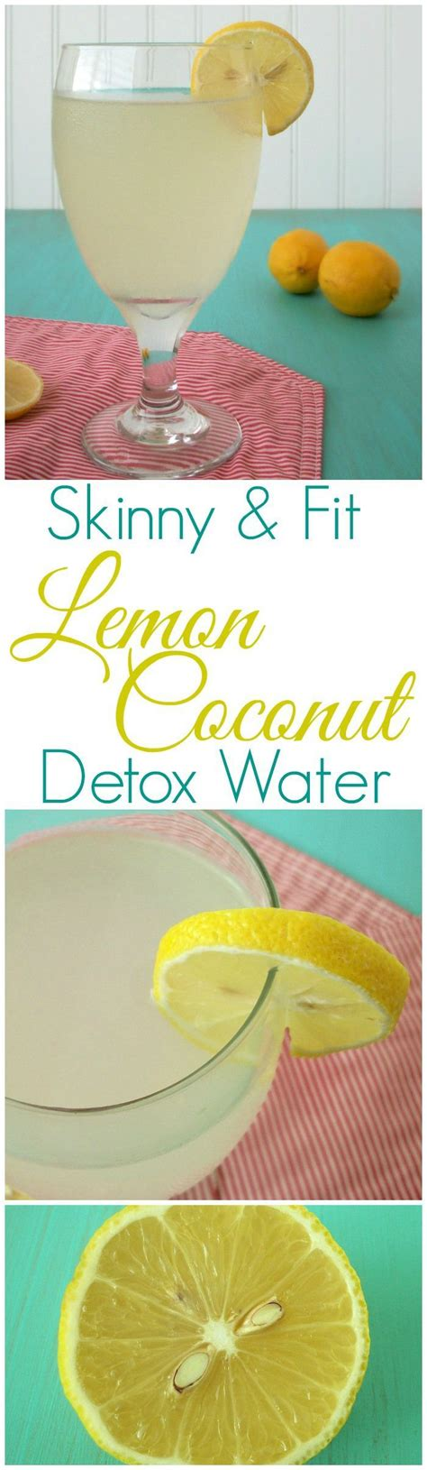 Detox Coconut Water by Lemon Detox Water With Coconut Water Recipe Lemon
