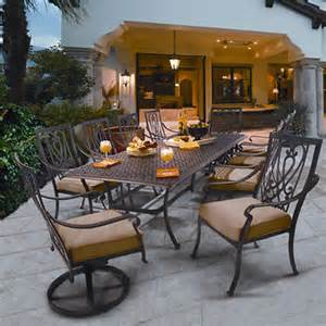 saratoga 11 patio dining collection
