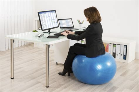 ball to sit on at desk dacadoo blog improve your health and fitness in real time