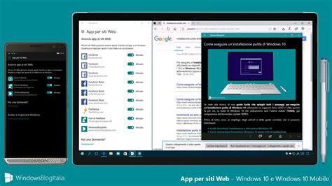 siti per mobile come aprire automaticamente le app da un link in windows