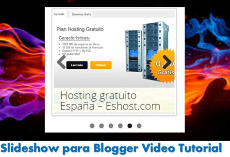 html tutorial for blogger slideshow para blogger video tutorial ayuda de blogger