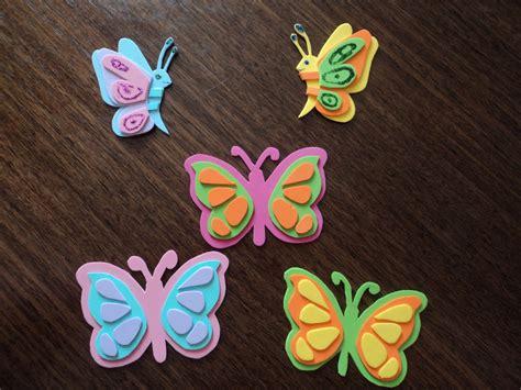 Imagenes Mariposas Goma Eva | crea f 225 cil mariposas de goma eva