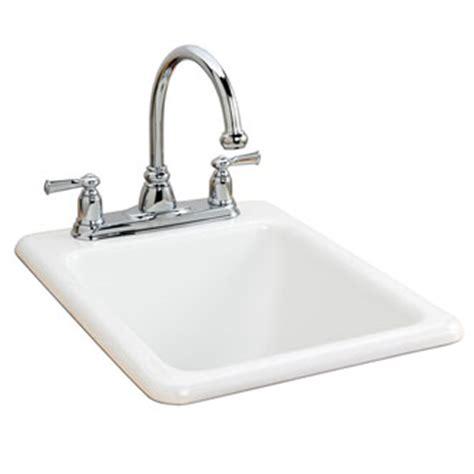 eljer salerno bar prep sink with 3 faucet holes