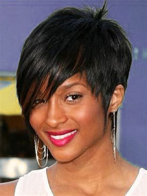 haircuts for fine black hair short hairstyles for black women with fine hair 80 with