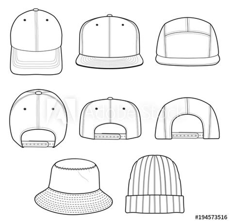 Beanie Design Template by Contemporary Hat Design Template Pattern Resume Ideas