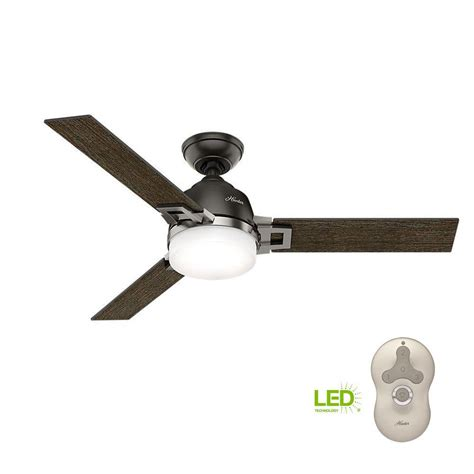 48 ceiling fan with light leoni 48 in led indoor noble bronze ceiling fan