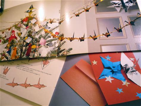 Origami Crane Chain - origami