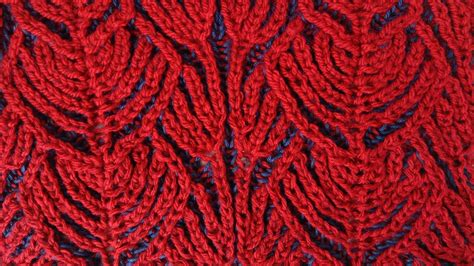 two colour knitting patterns free hearts two color brioche stitch knitting pattern free