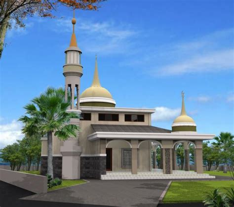 contoh desain gapura masjid contoh gambar desain masjid minimalis dan modern share