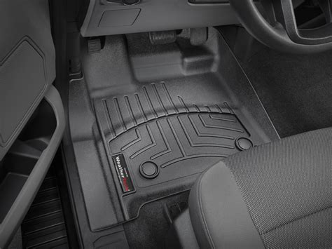 weathertech floor mats floorliner for ford f 150 regular cab 2015 2017 ebay
