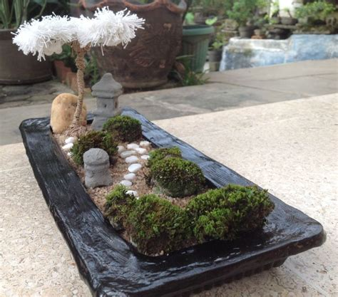 mini zen rock garden 1000 images about mini zen garden on white
