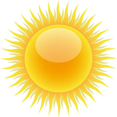 sole clipart clipart meteo sole