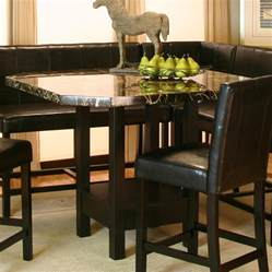 Corner Bar Table Chatham Square Clipped Corner Pub Table W Faux Marble Top By Cramco Inc Wolf Furniture