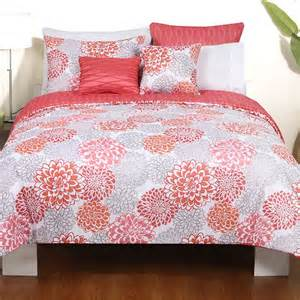 Black Damask Comforter Coral And Grey Bedding Sets Home Furniture Design