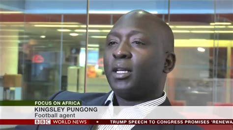 kingsley rainbow rainbow football focus on african football