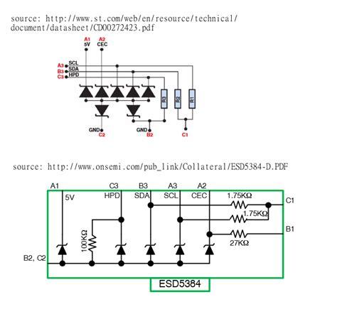 hdmi esd diode hdmi esd diode 28 images esd protection diode circuit esd protection diode images 16844315