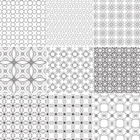 vector pattern tile persian tiles vector images
