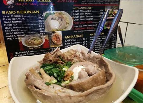 wisata kuliner bakso beranak terpopuler  indonesia
