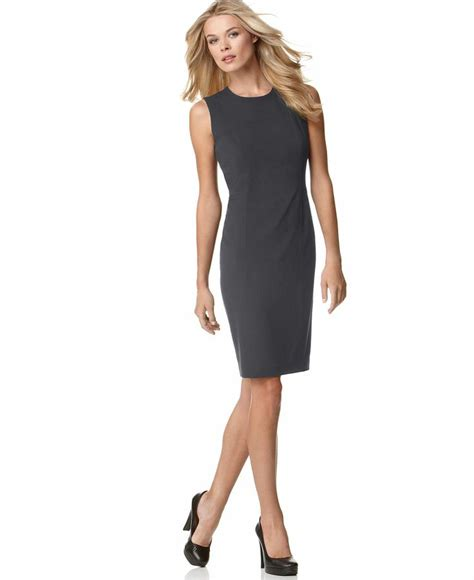 Calvin Klein Pasir 201 Black Gold calvin klein sleeveless sheath dress