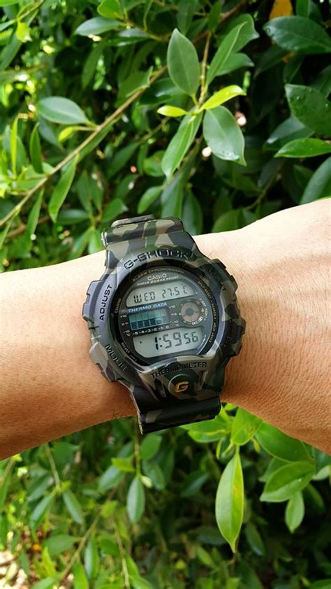 G Shock Dw 6900 Green Transparan g shock dw 6100 green camouflage 6 casio news parts